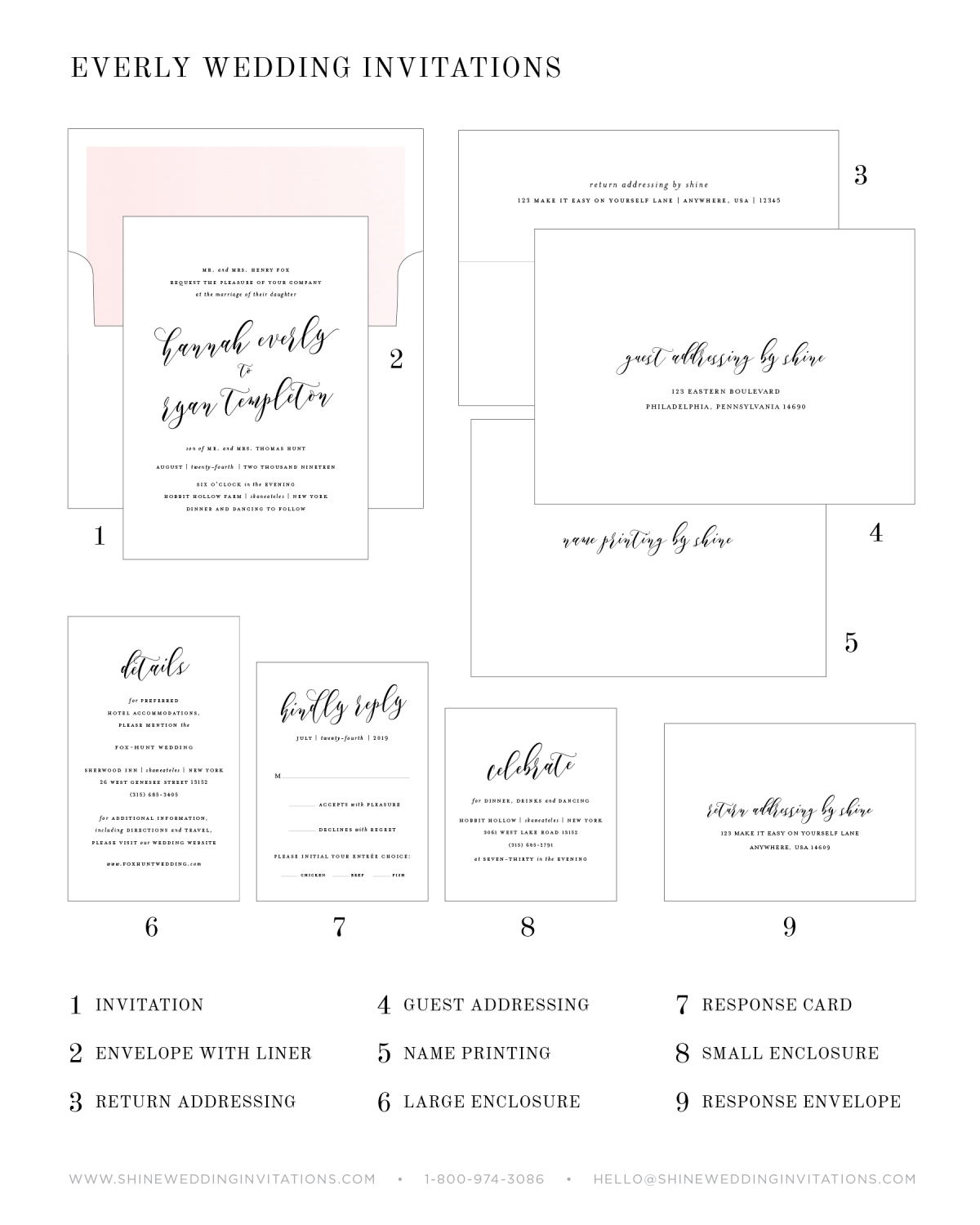 Wedding Invitation Pieces Guide