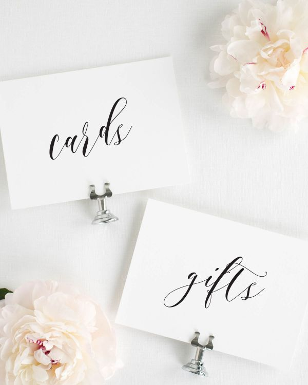 Everly Wedding Signs Package