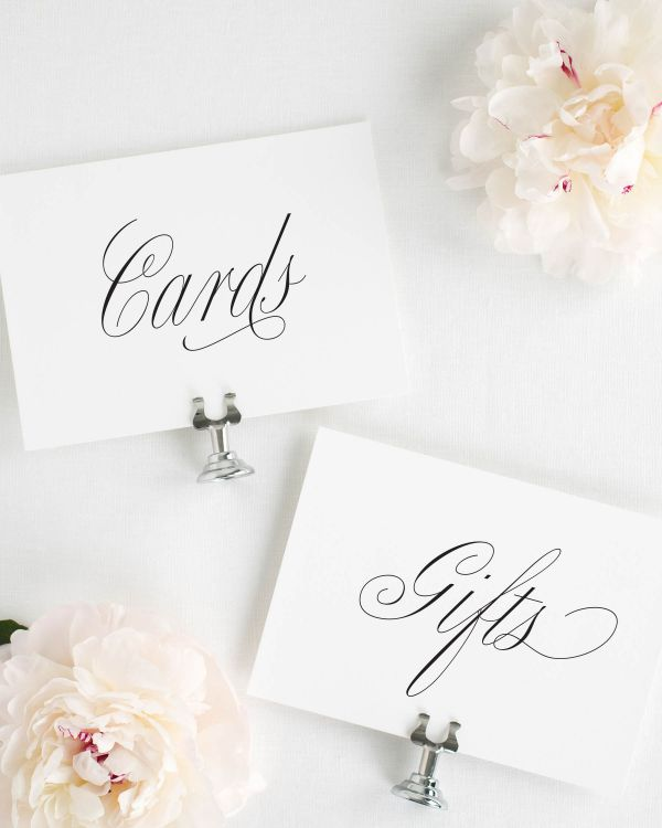 Garden Elegance Wedding Signs Package