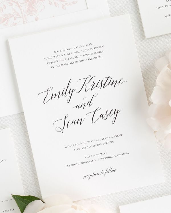 wedding invitations - Modern Wedding Invitations