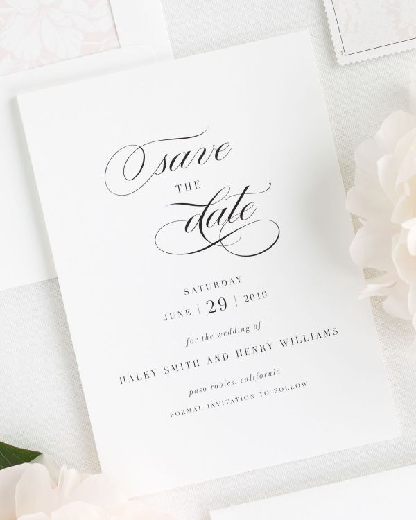 Haley Save the Date Cards