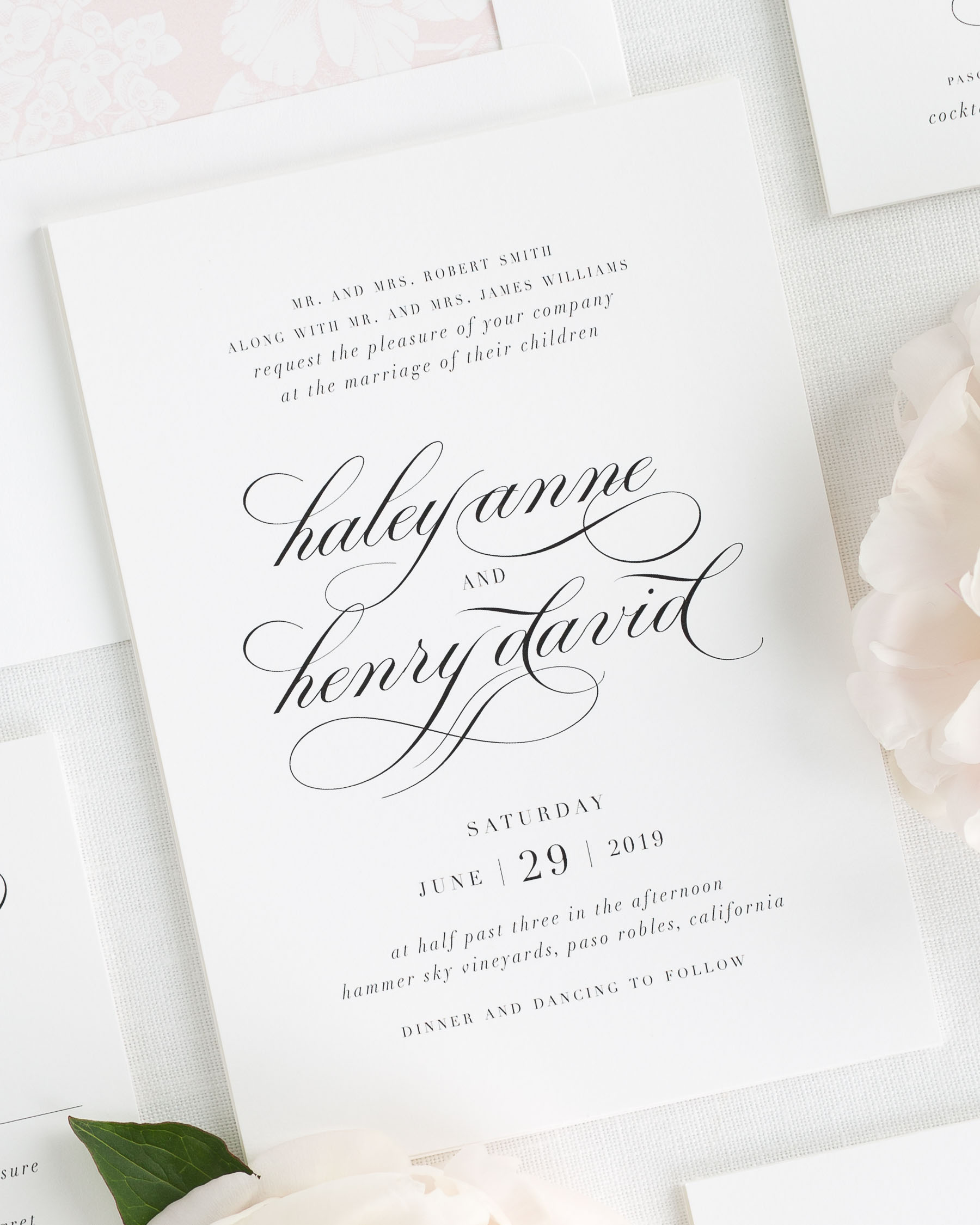 Haley Wedding Invitations