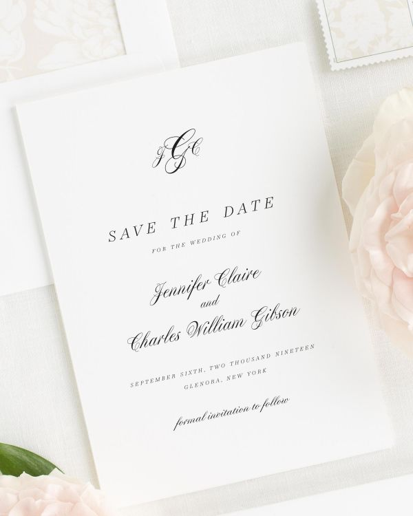 Jennifer Save the Date Cards