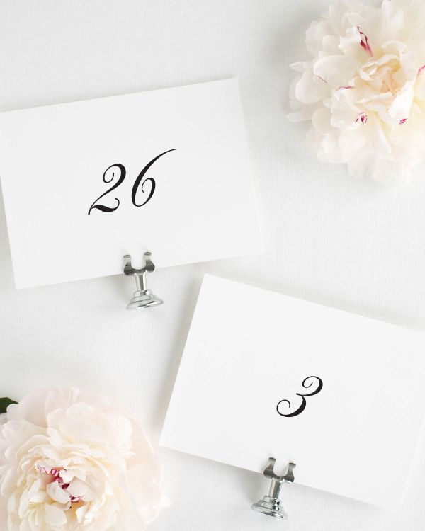 Jennifer Table Numbers