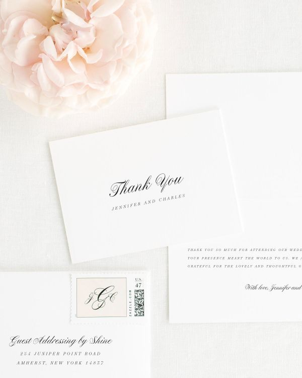 Jennifer Thank You Cards