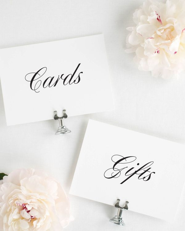 Jennifer Wedding Signs Package