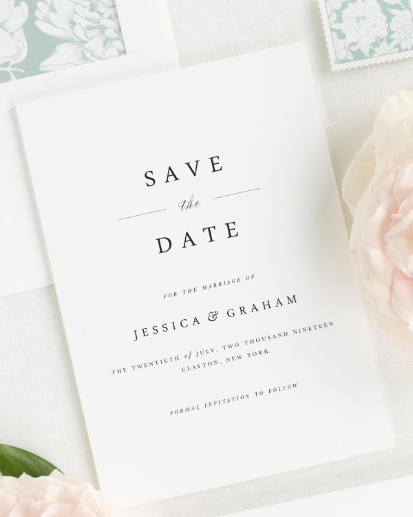 Jessica Save the Date Cards
