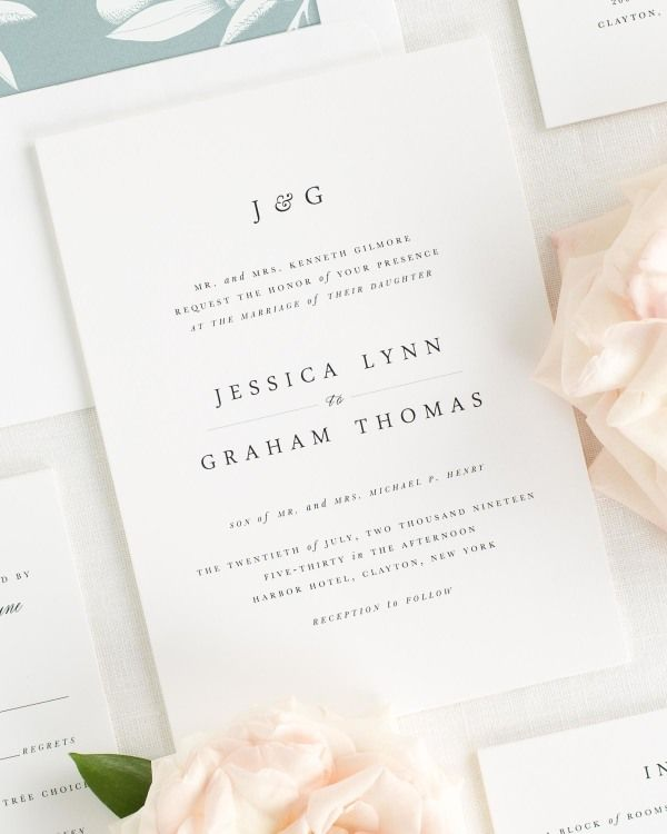 Jessica Wedding Invitations
