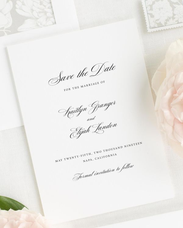 Kaitlyn Save the Date Cards