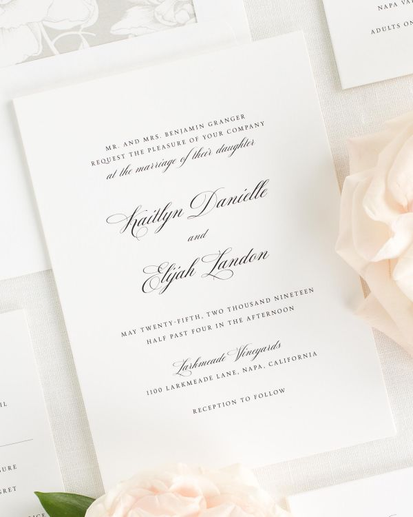 Kaitlyn Wedding Invitations