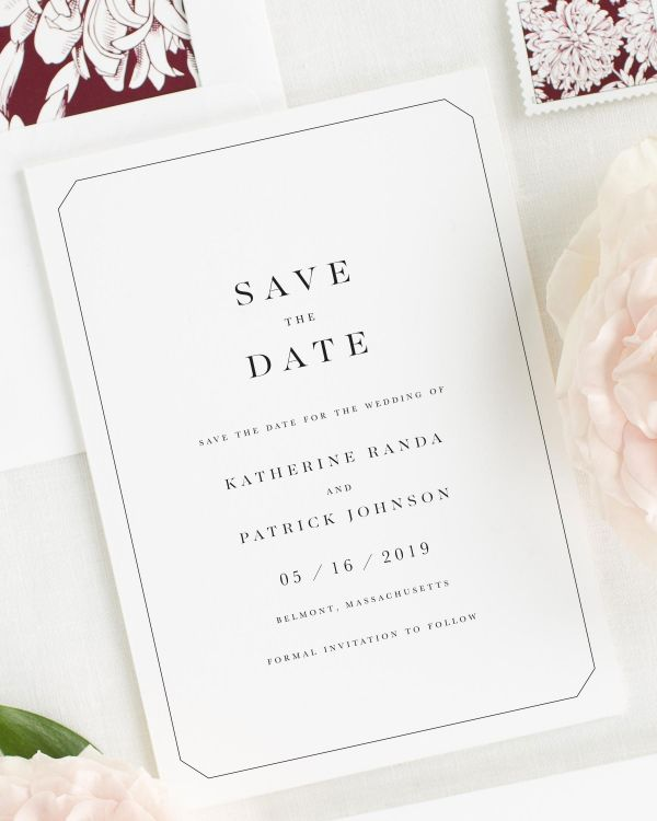 Katherine Save the Date Cards