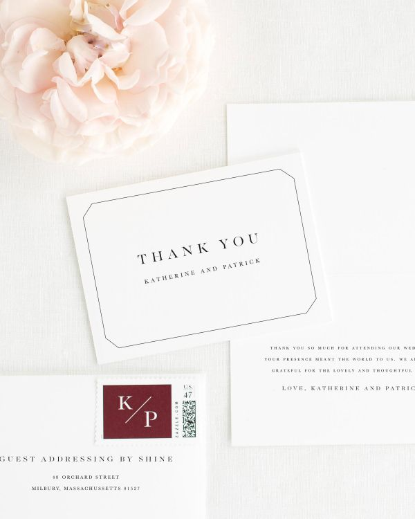 Katherine Thank You Cards