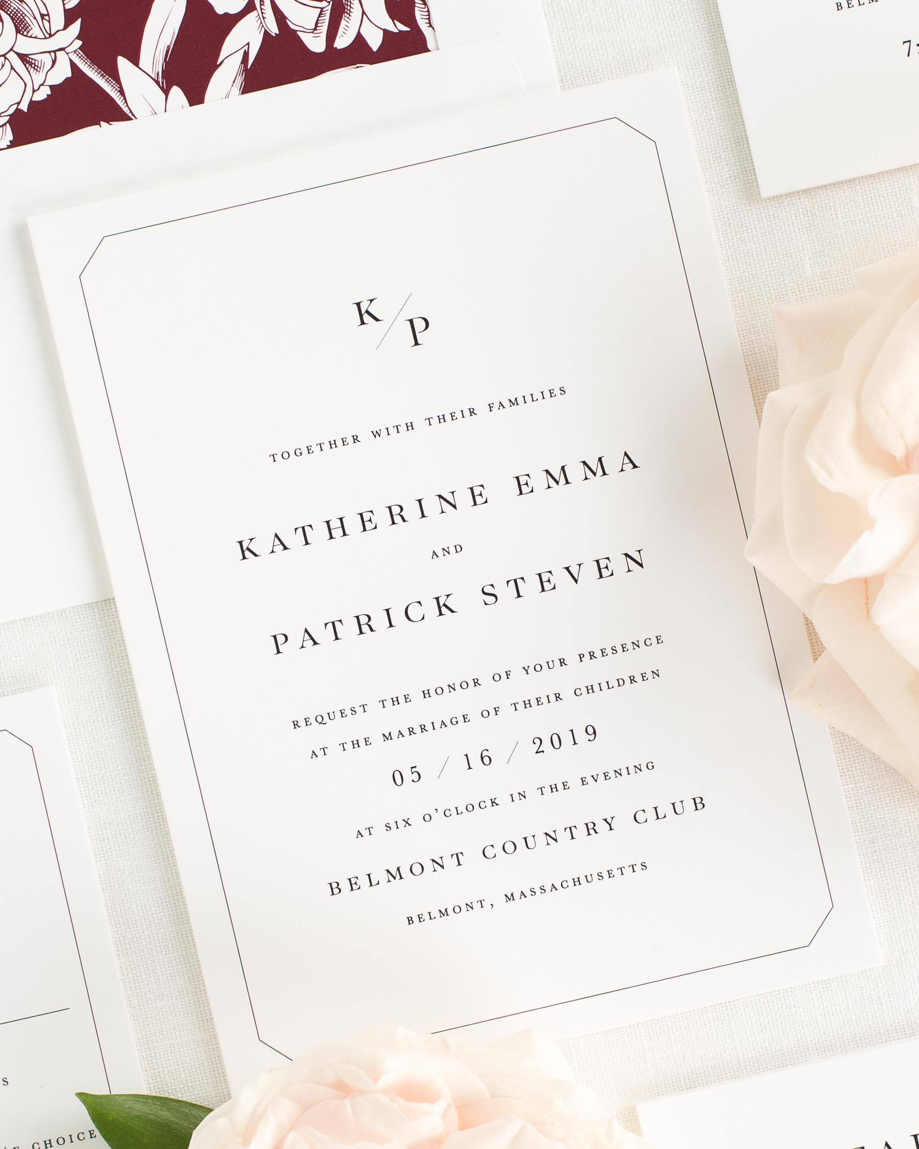 Katherine Wedding Invitations