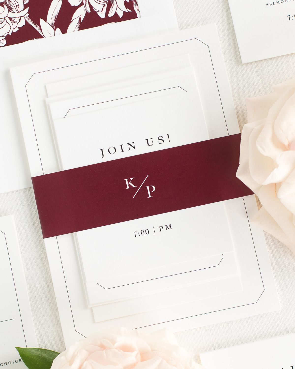 Katherine Wedding Invitations - Wedding Invitations by Shine