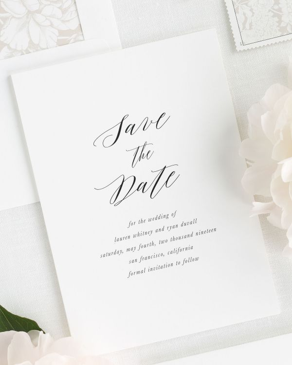 Lauren Save the Date Cards