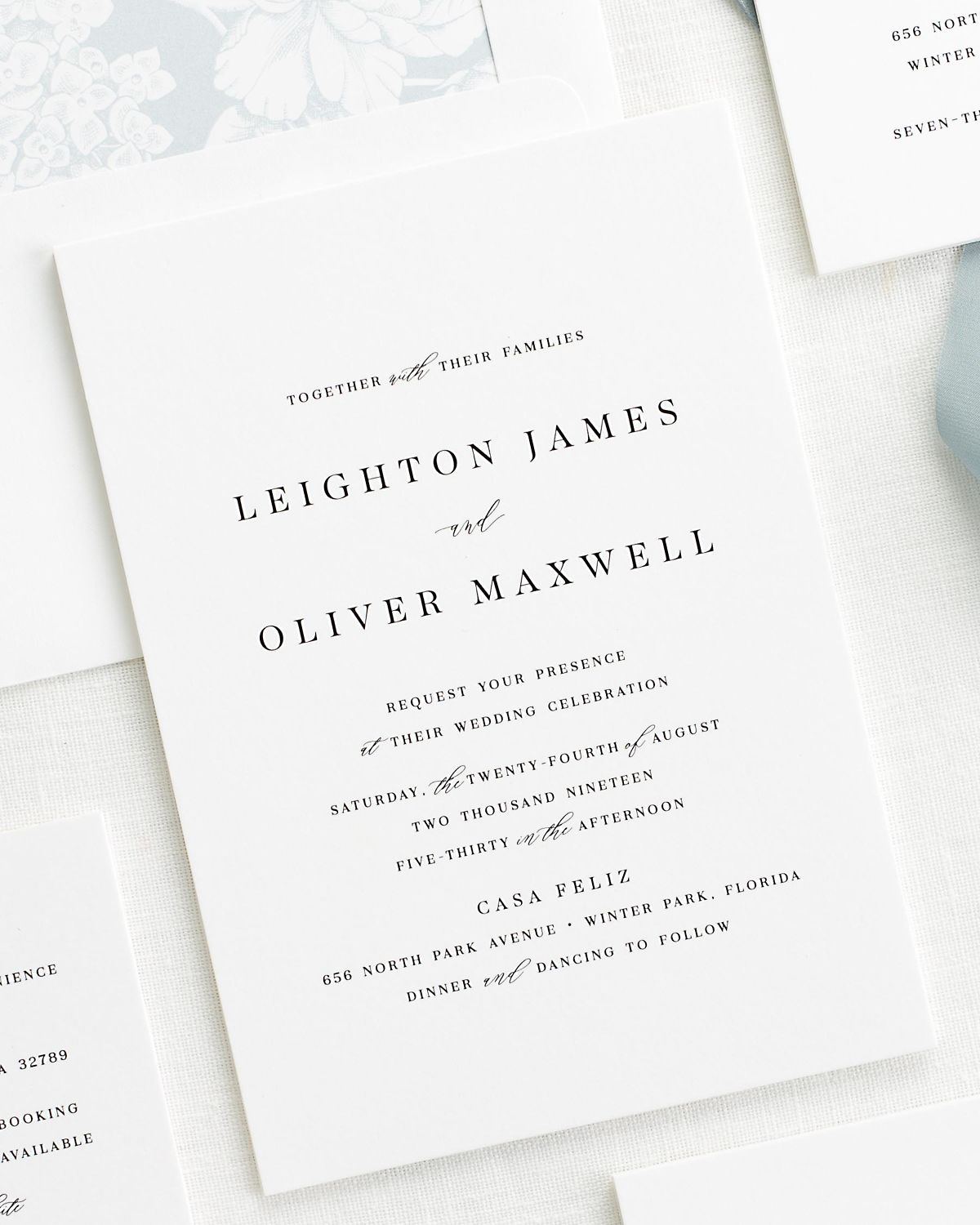 Leighton Wedding Invitations