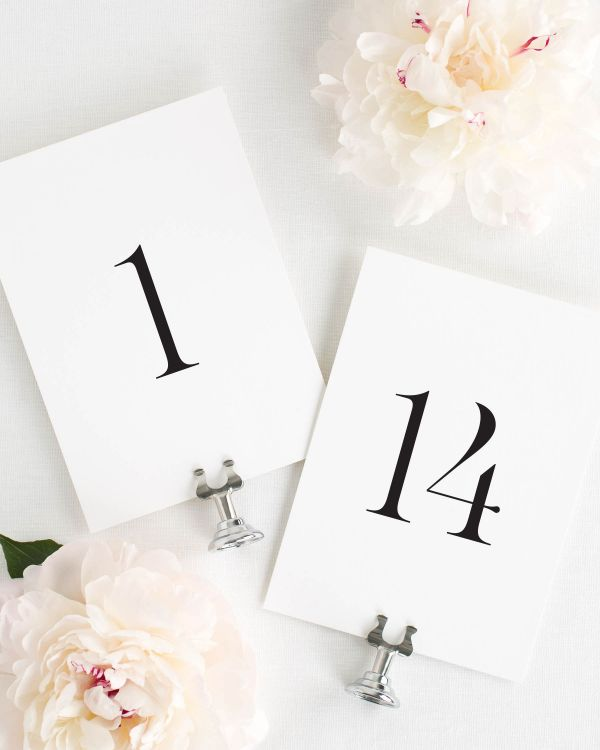 Leighton Table Numbers