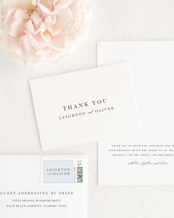 Leighton Thank You Cards