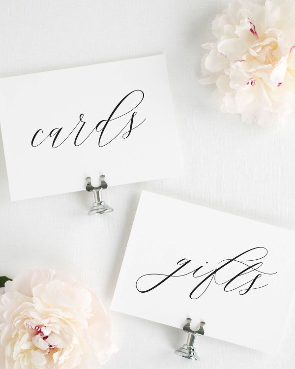 Leighton Wedding Signs Package