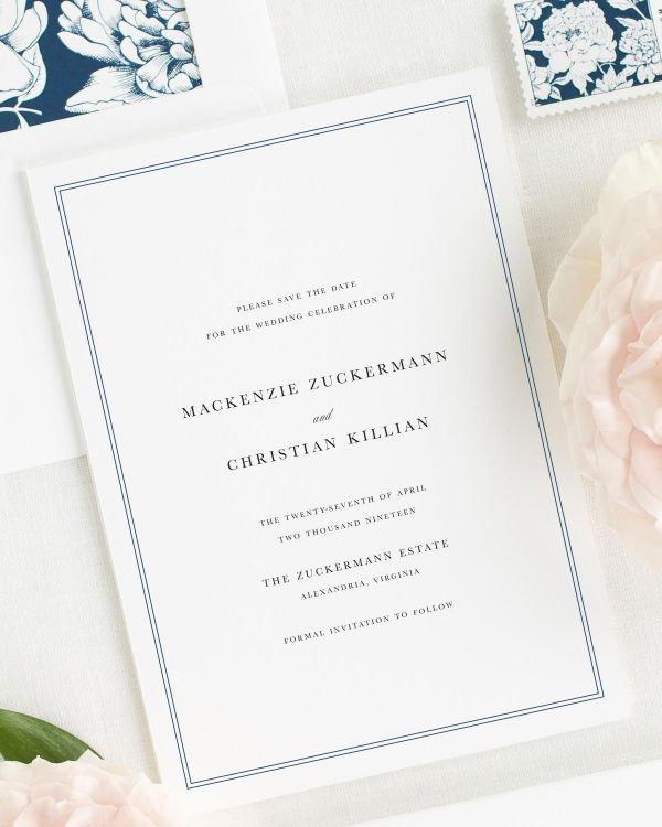 Mackenzie Save the Date Cards