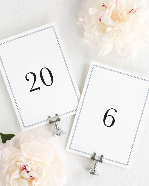 Mackenzie Table Numbers