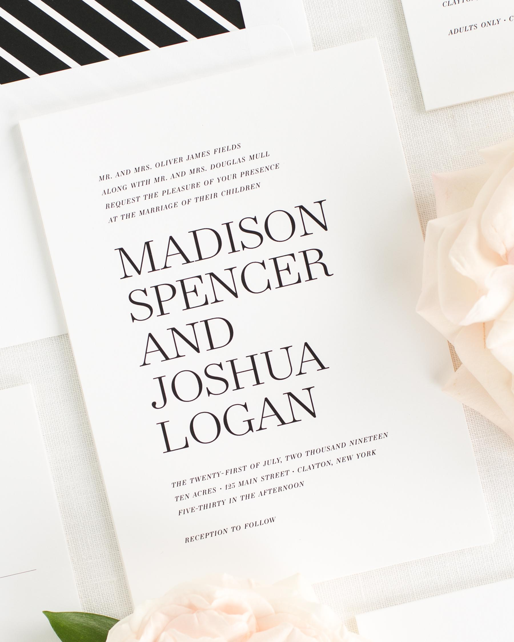 Madison Wedding Invitations