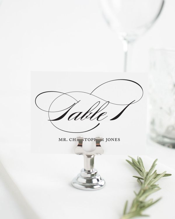 Marriage Place Cards