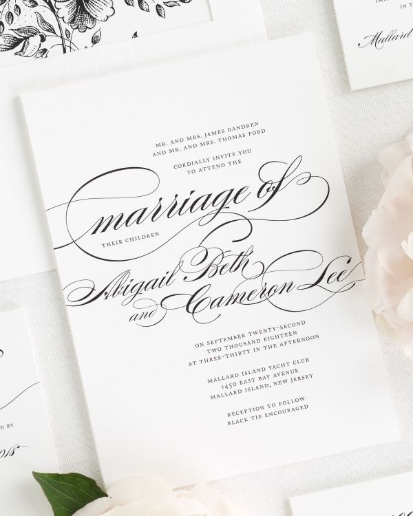 Marriage Wedding Invitations