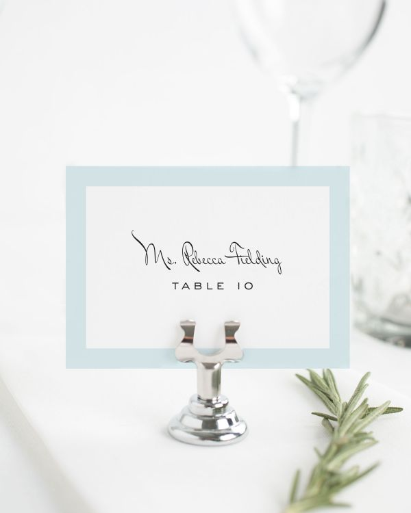 Modern Luxe Place Cards