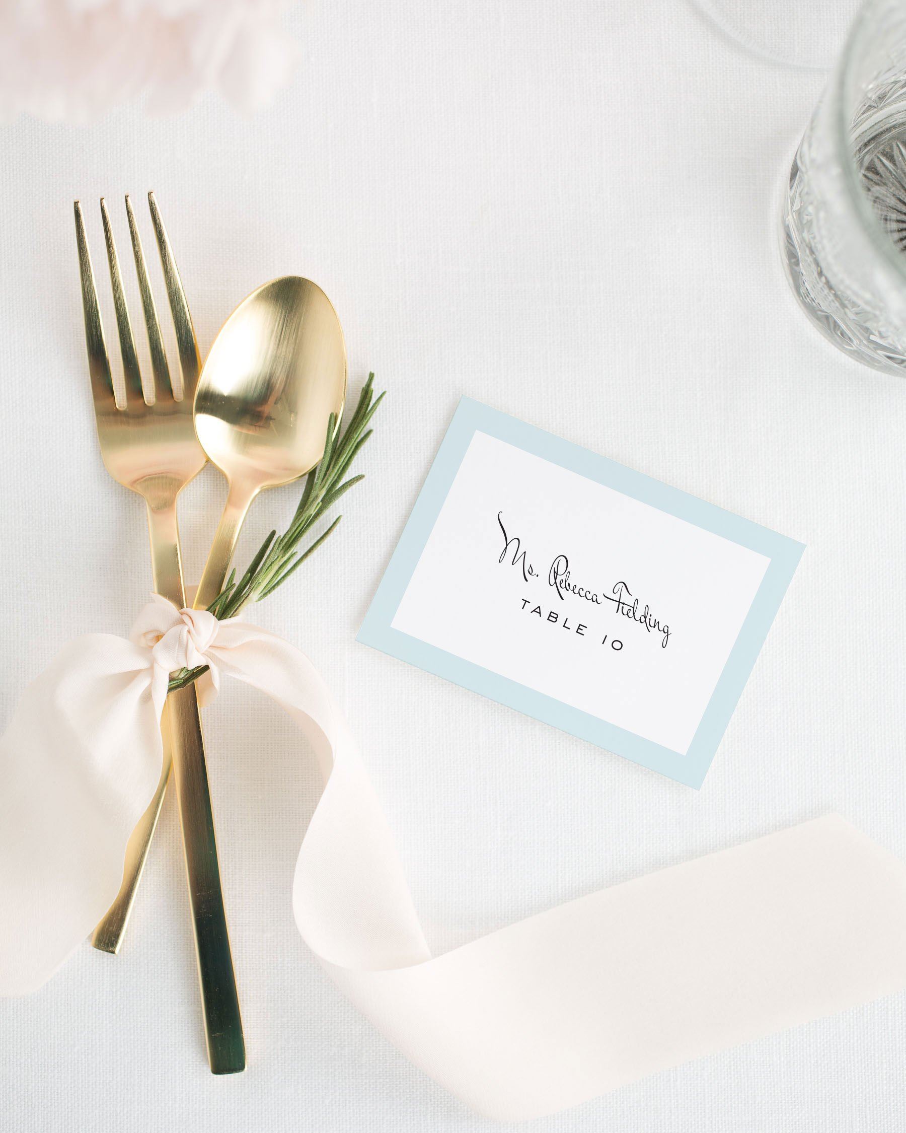 Modern Luxe Place Cards - Place Cards by Shine