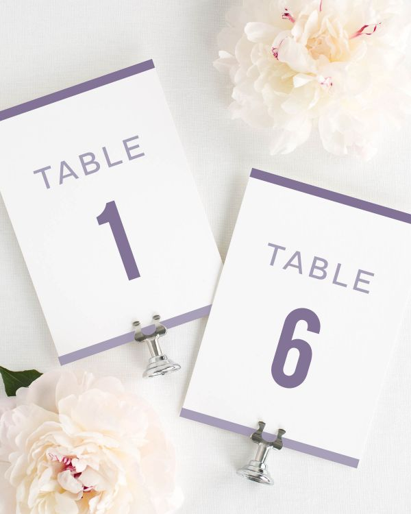 Modern Stack Table Numbers