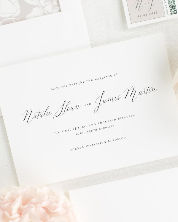 Natalie Save the Date Cards