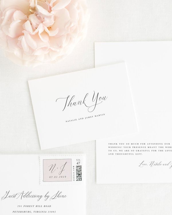 Natalie Thank You Cards