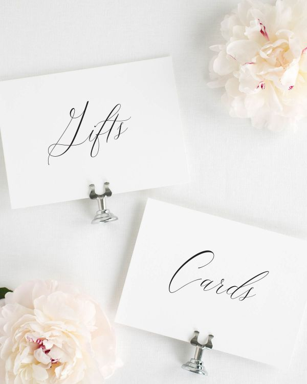 Natalie Wedding Signs Package
