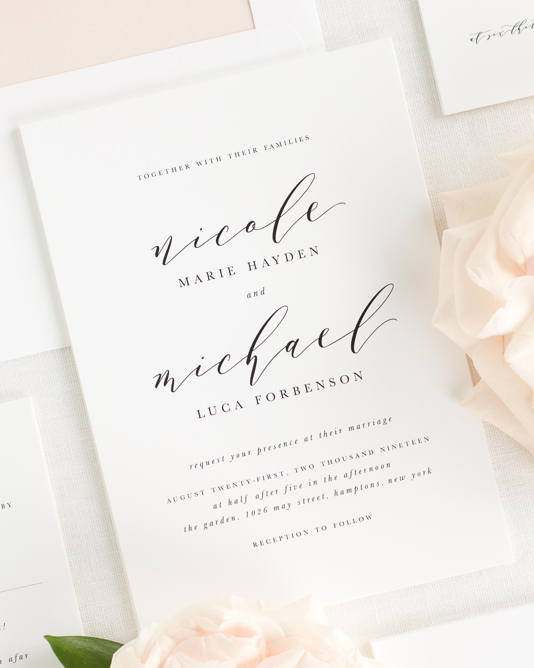 Nicole Wedding Invitations