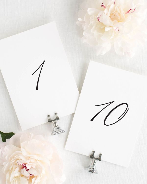 Norah Table Numbers