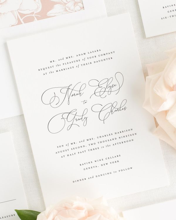 Norah Wedding Invitations