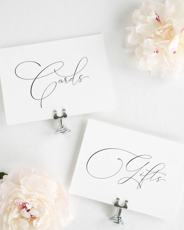 Norah Wedding Signs Package