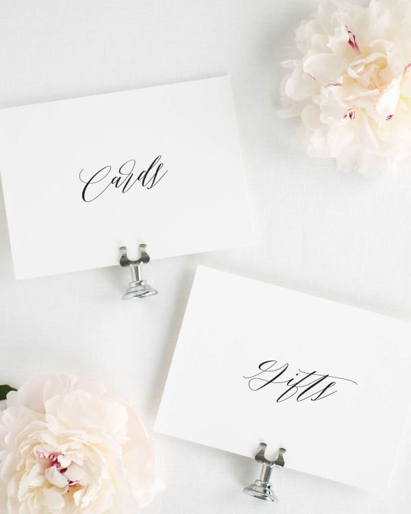 Olivia Wedding Signs Package