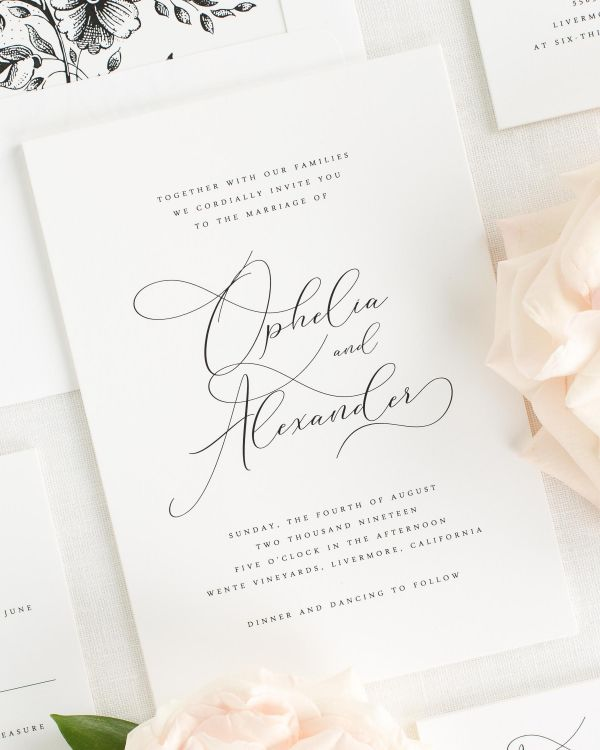 Ophelia Wedding Invitations