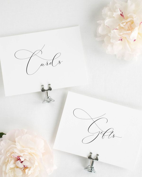 Ophelia Wedding Signs Package