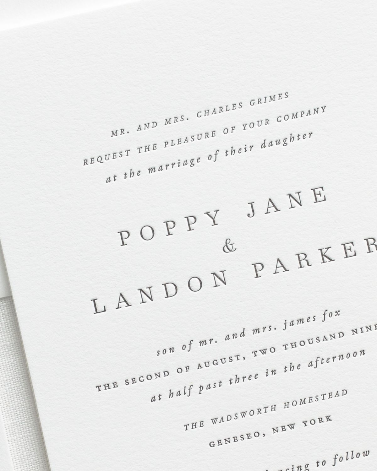 Poppy Letterpress Wedding Invitations 2 1200x1500 poppy letterpress wedding invitations letterpress wedding,Plain White Invitations
