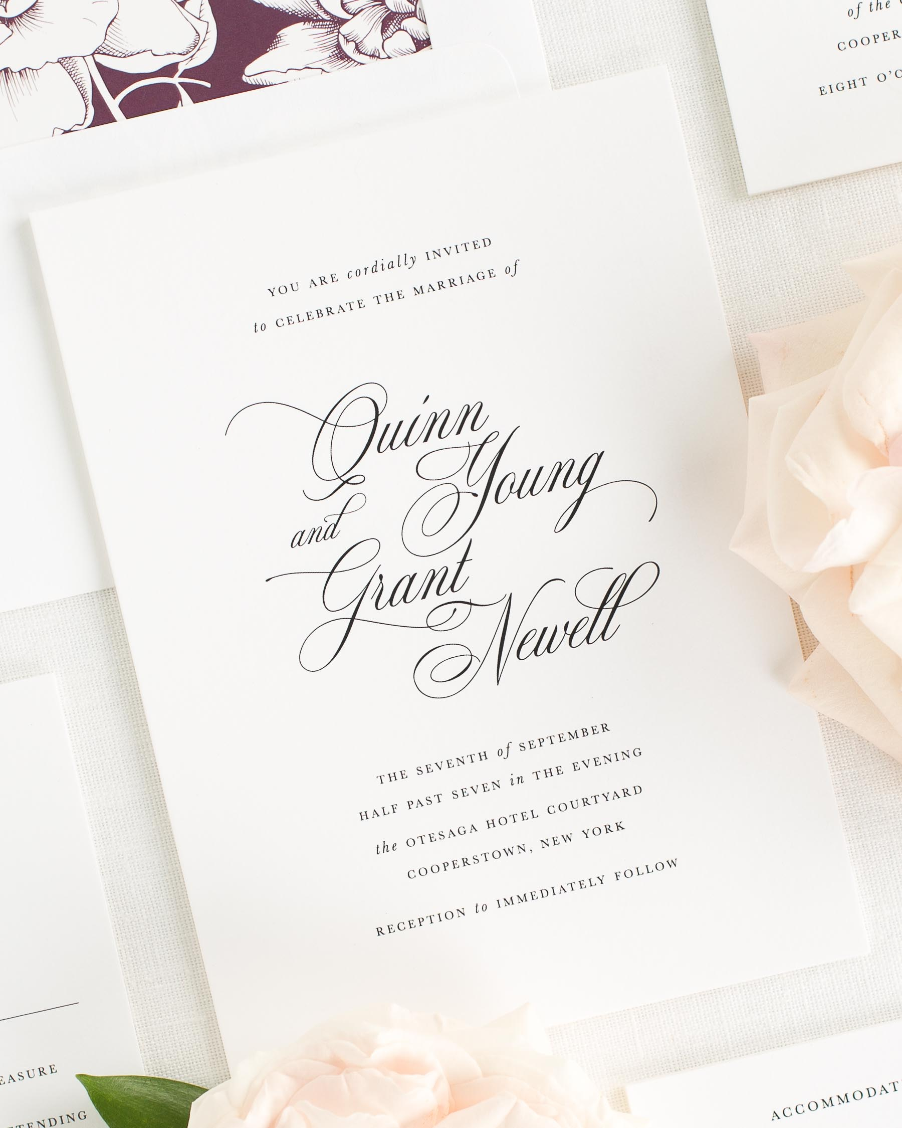 Quinn Wedding Invitations