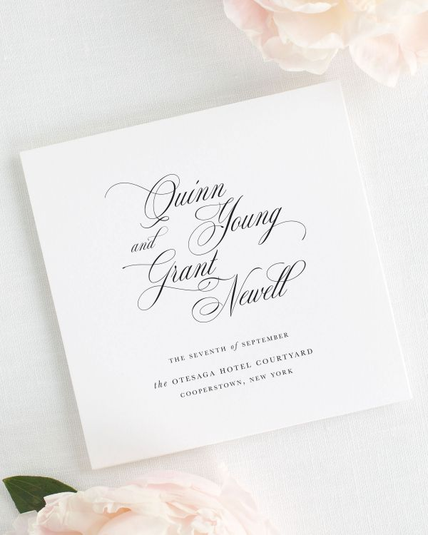 Quinn Wedding Programs