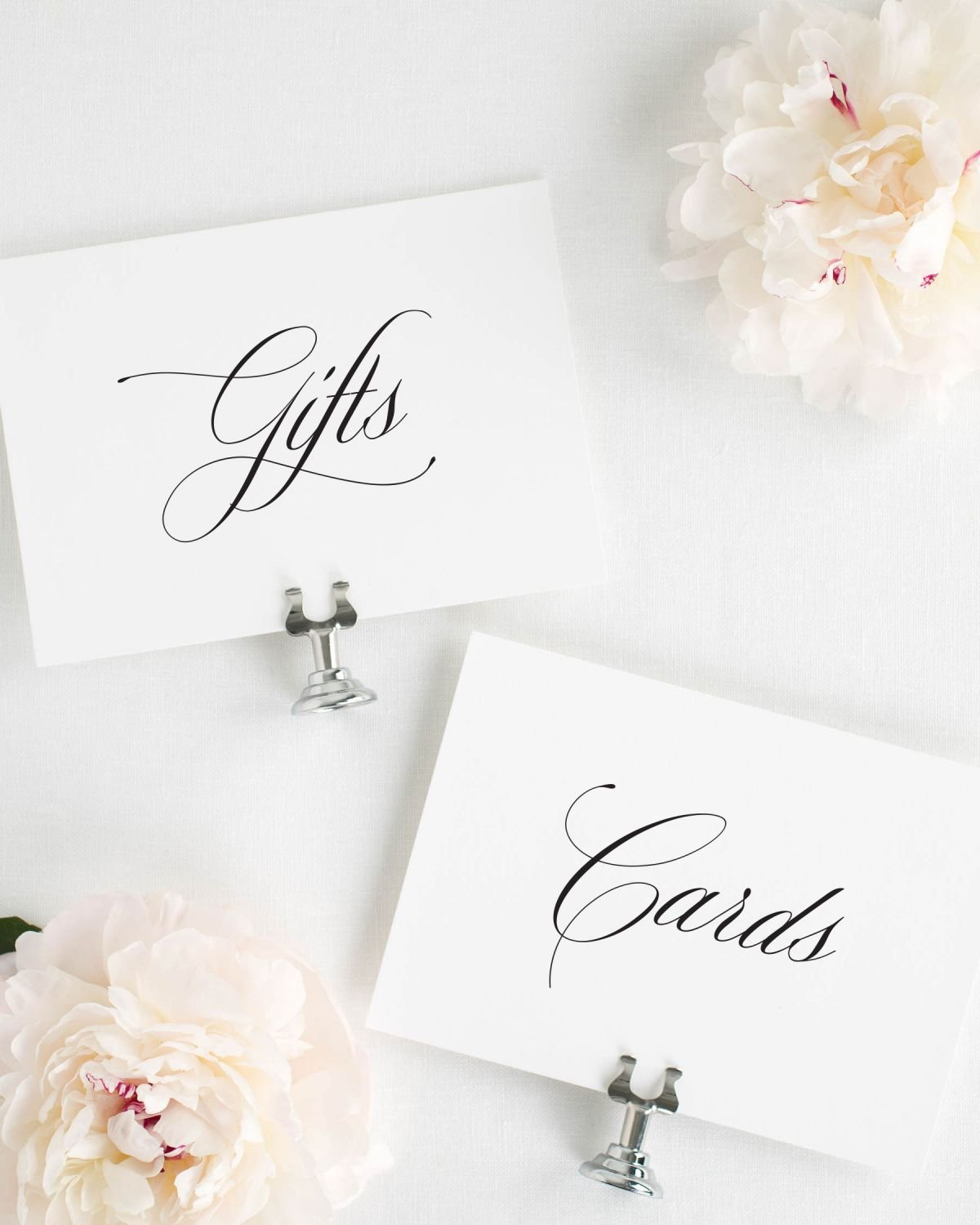 Cards and Gifts Wedding Signs