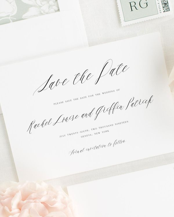Rachel Save the Date Cards
