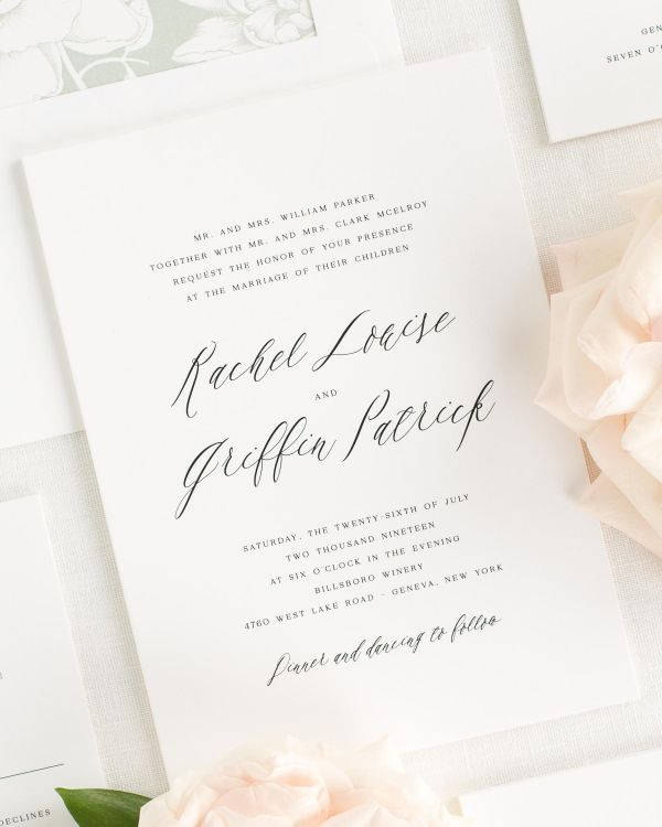 Rachel Wedding Invitations