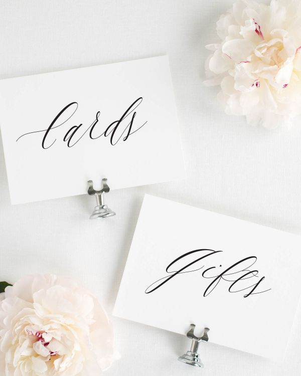 Rachel Wedding Signs Package