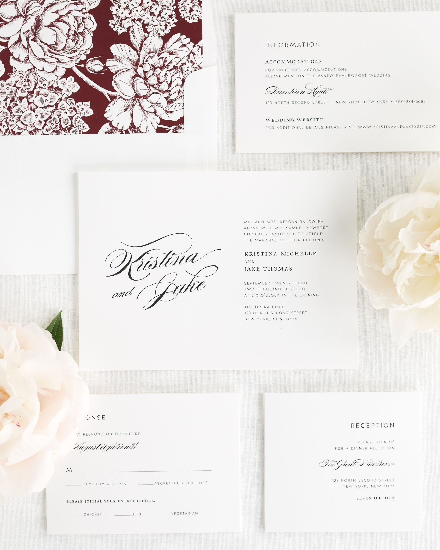 Romantic glamour wedding invitations wedding invitations by shine stopboris