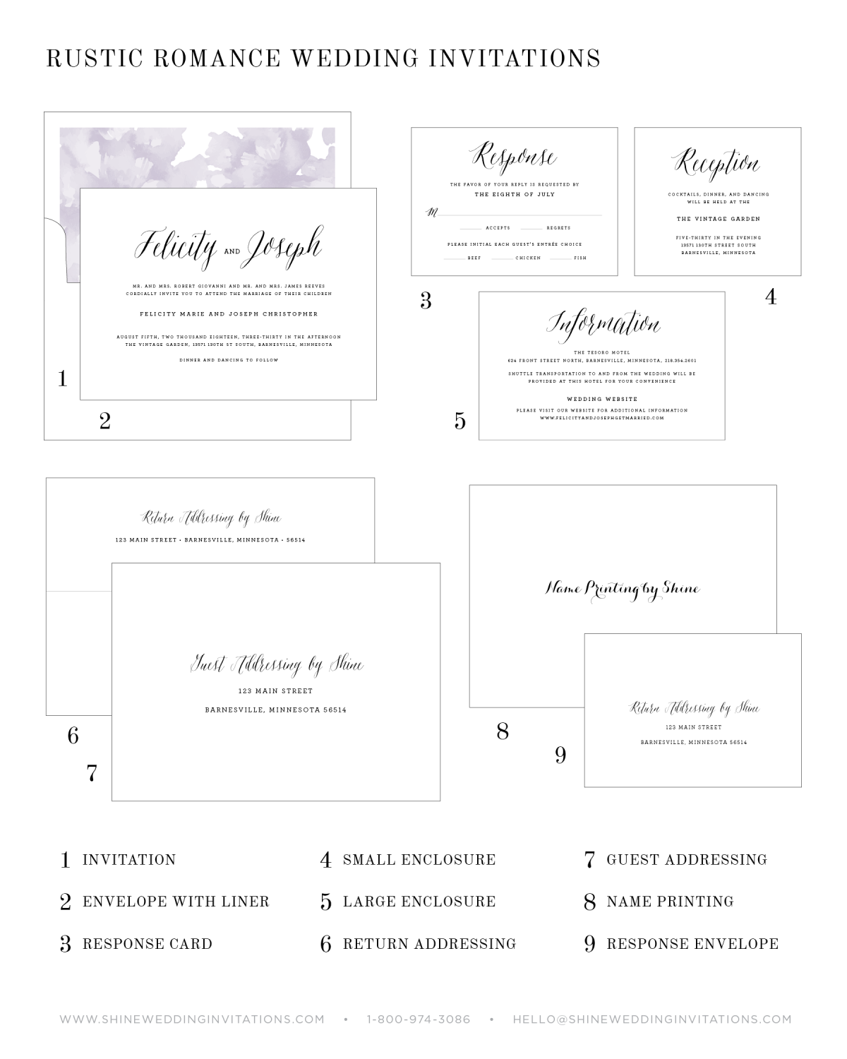 Wedding Inviations Components